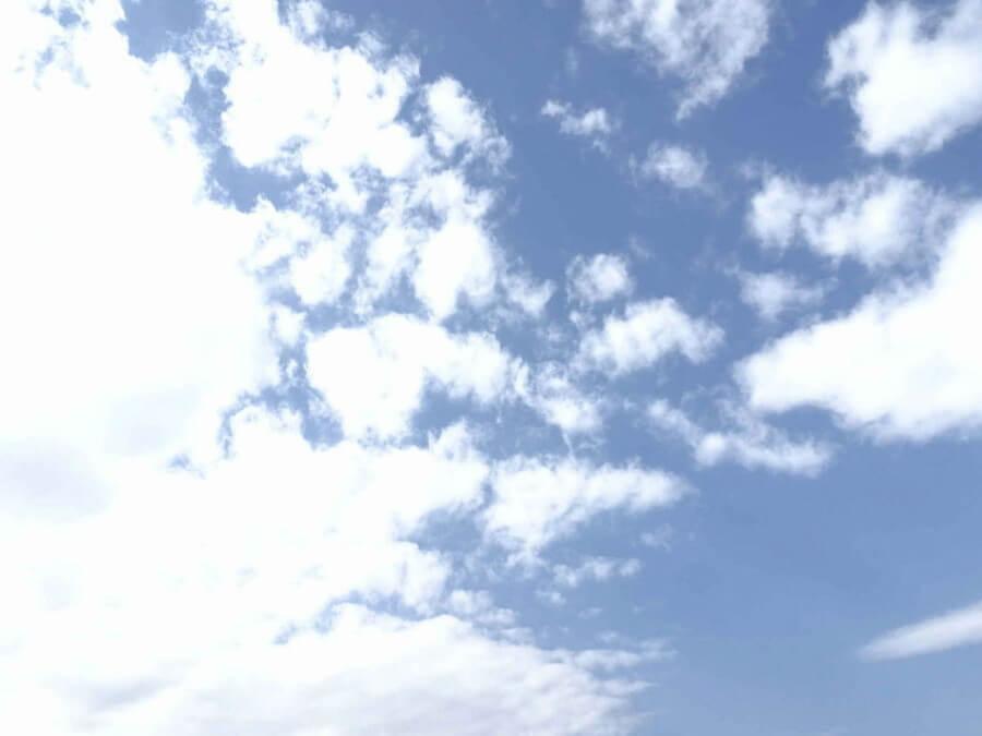 青々とした空